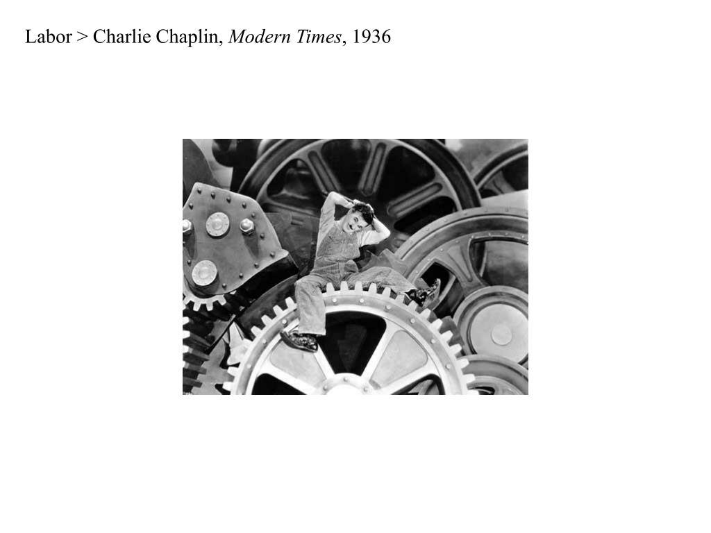 Labor > Charlie Chaplin,