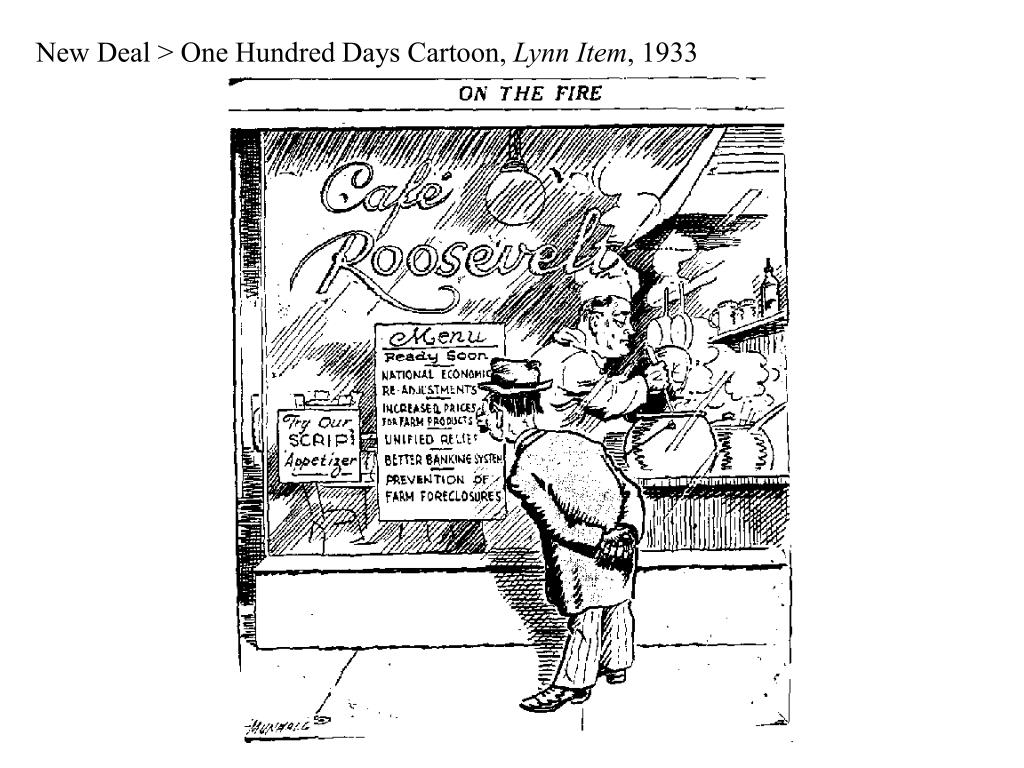 New Deal > One Hundred Days Cartoon,