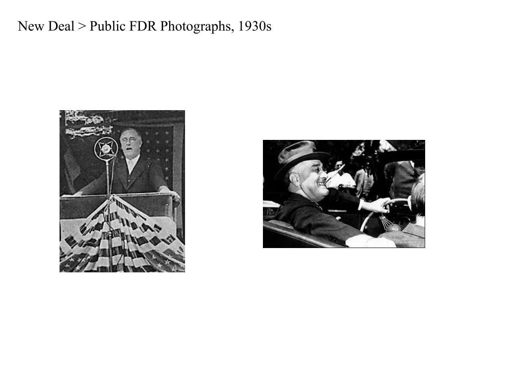 New Deal > Public FDR Photographs, 1930s