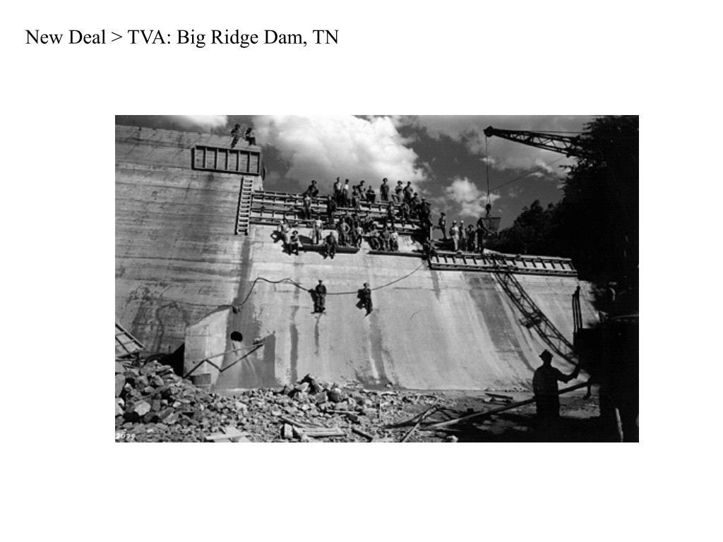 New Deal > TVA: Big Ridge Dam, TN