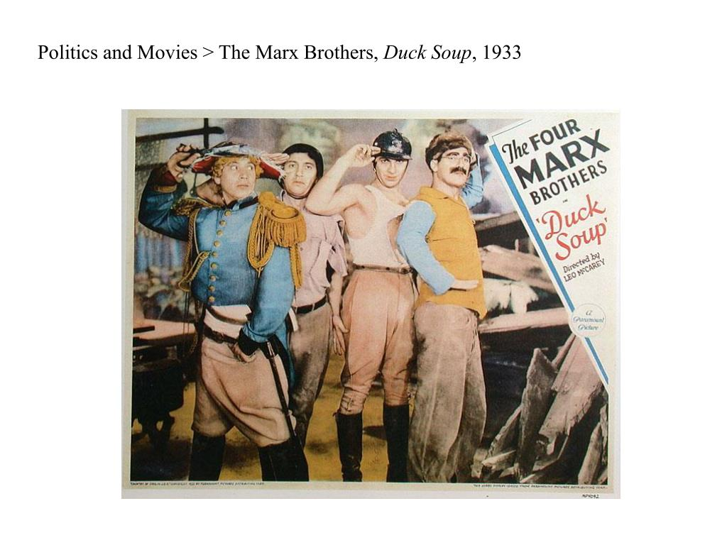 Politics and Movies > The Marx Brothers,