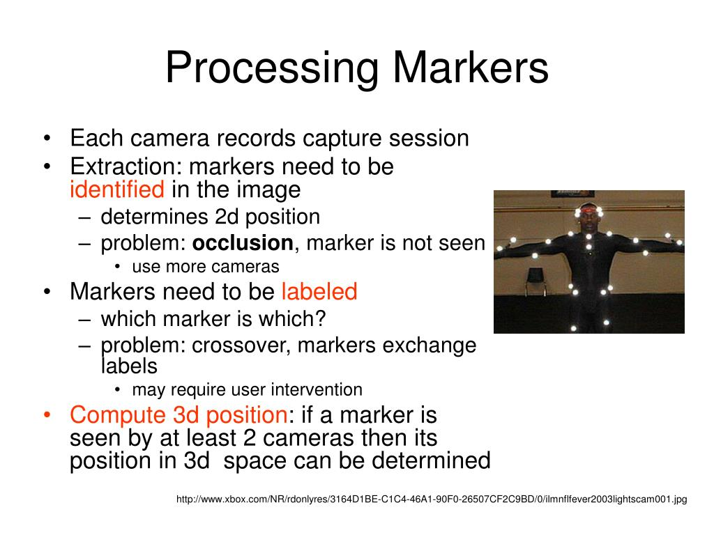 Processing Markers