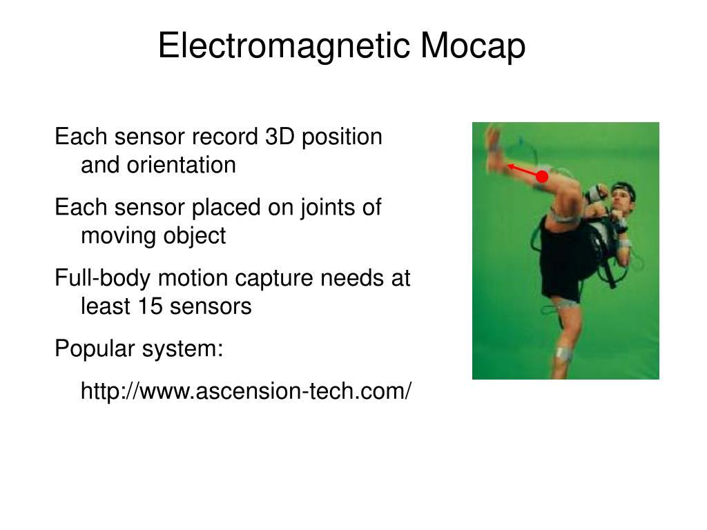 Electromagnetic Mocap