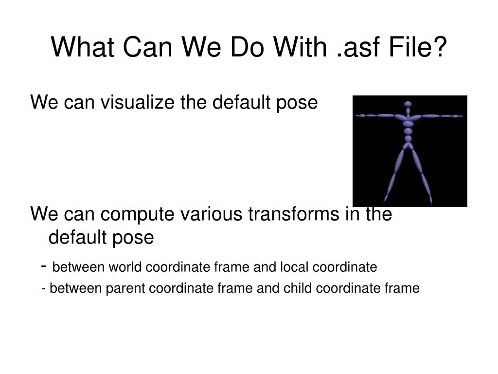 What Can We Do With .asf File?