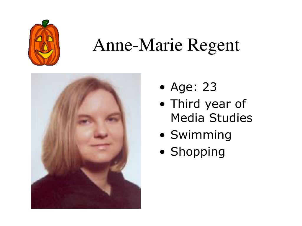 Anne-Marie Regent