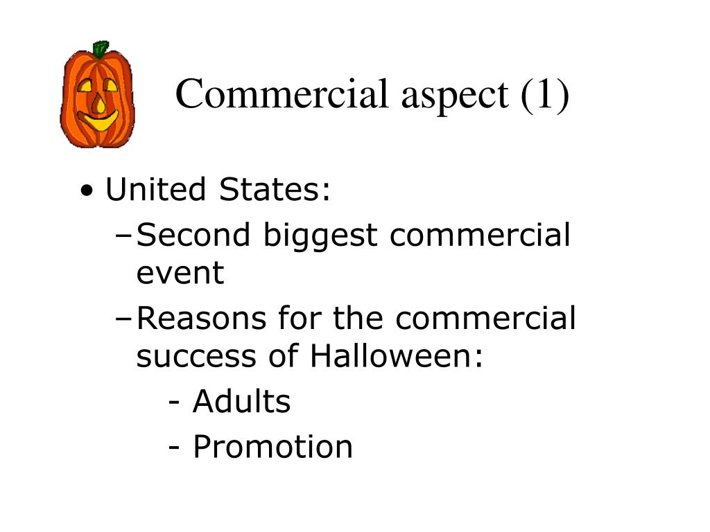 Commercial aspect (1)