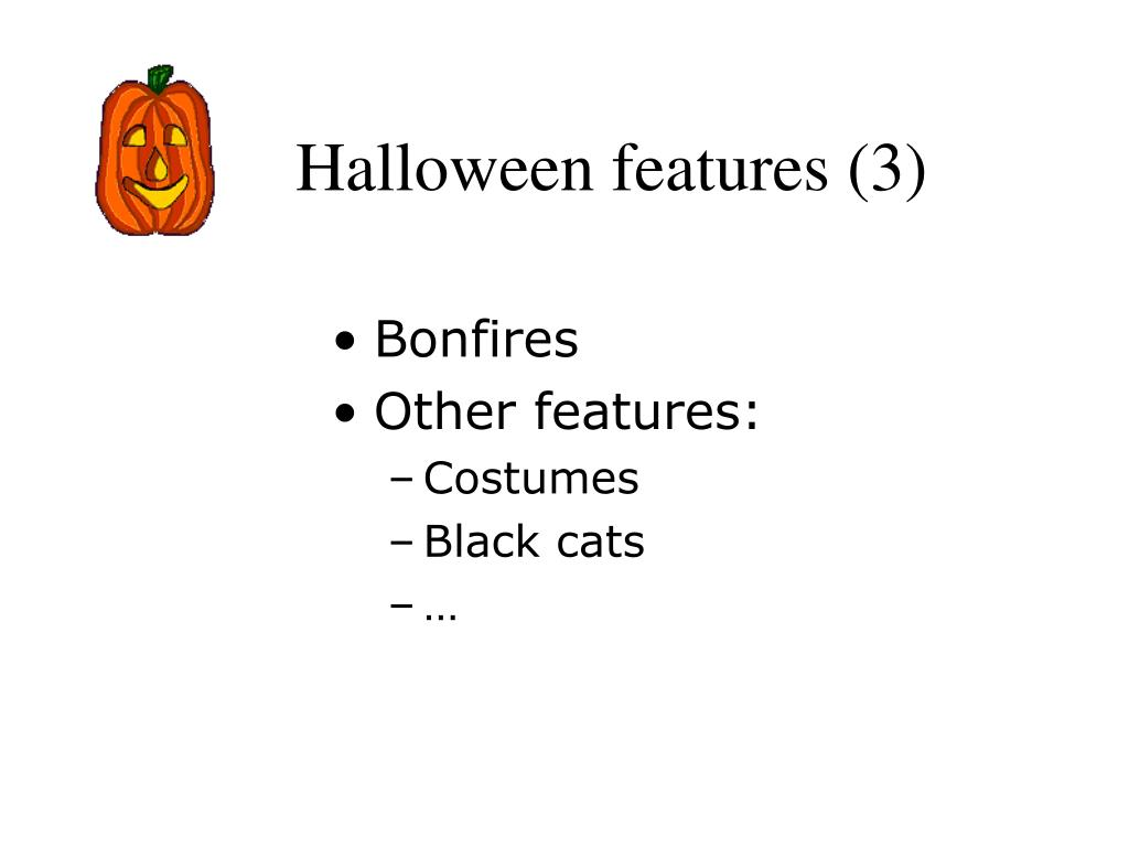 Halloween features (3)
