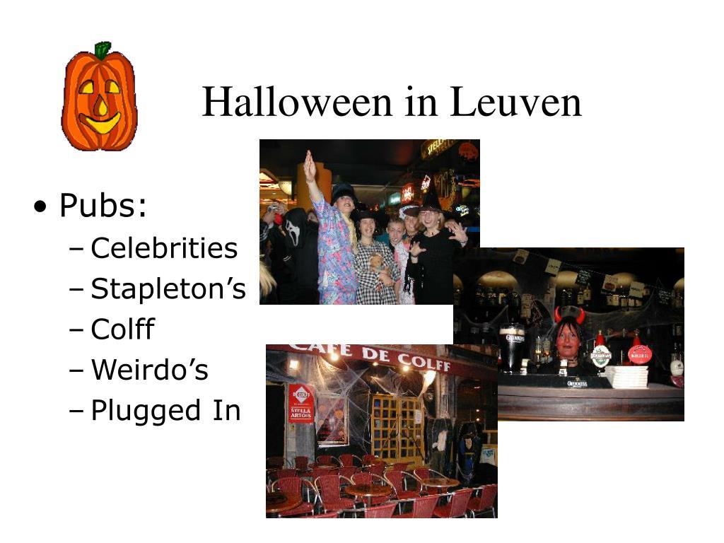 Halloween in Leuven