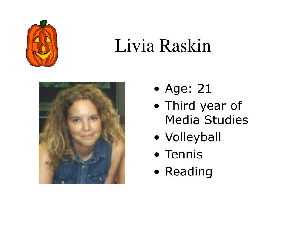 Livia Raskin