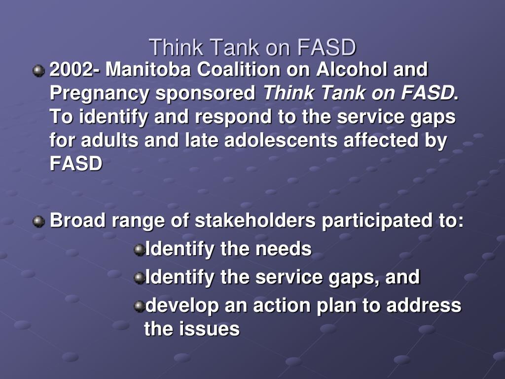 Think Tank on FASD