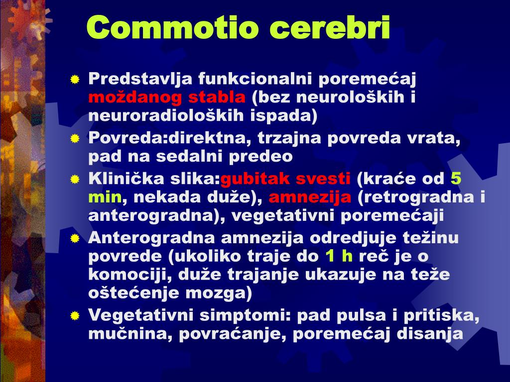 Commotio cerebri