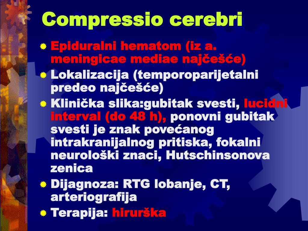 Compressio cerebri