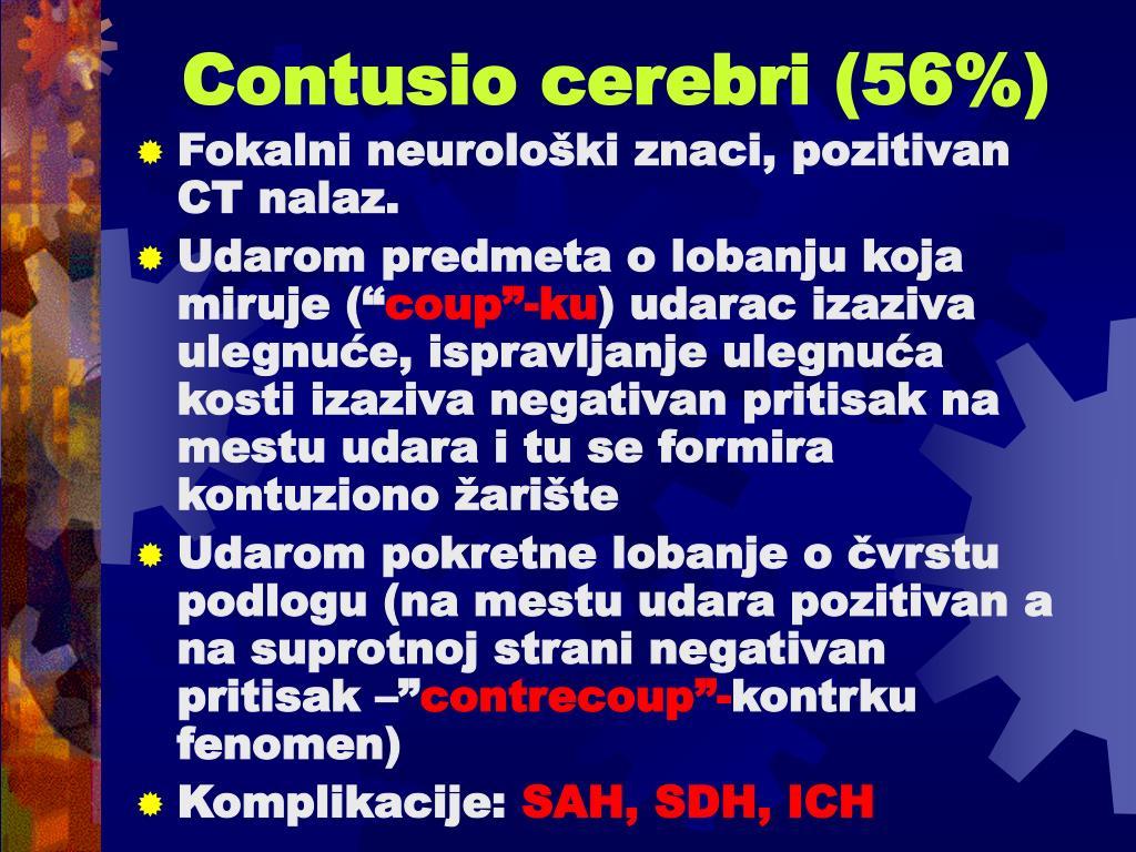 Contusio cerebri (56%)