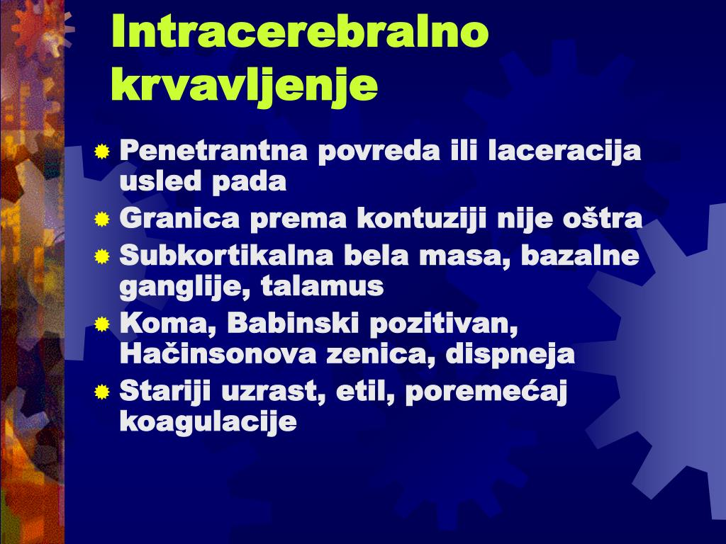 Intracerebralno krvavljenje
