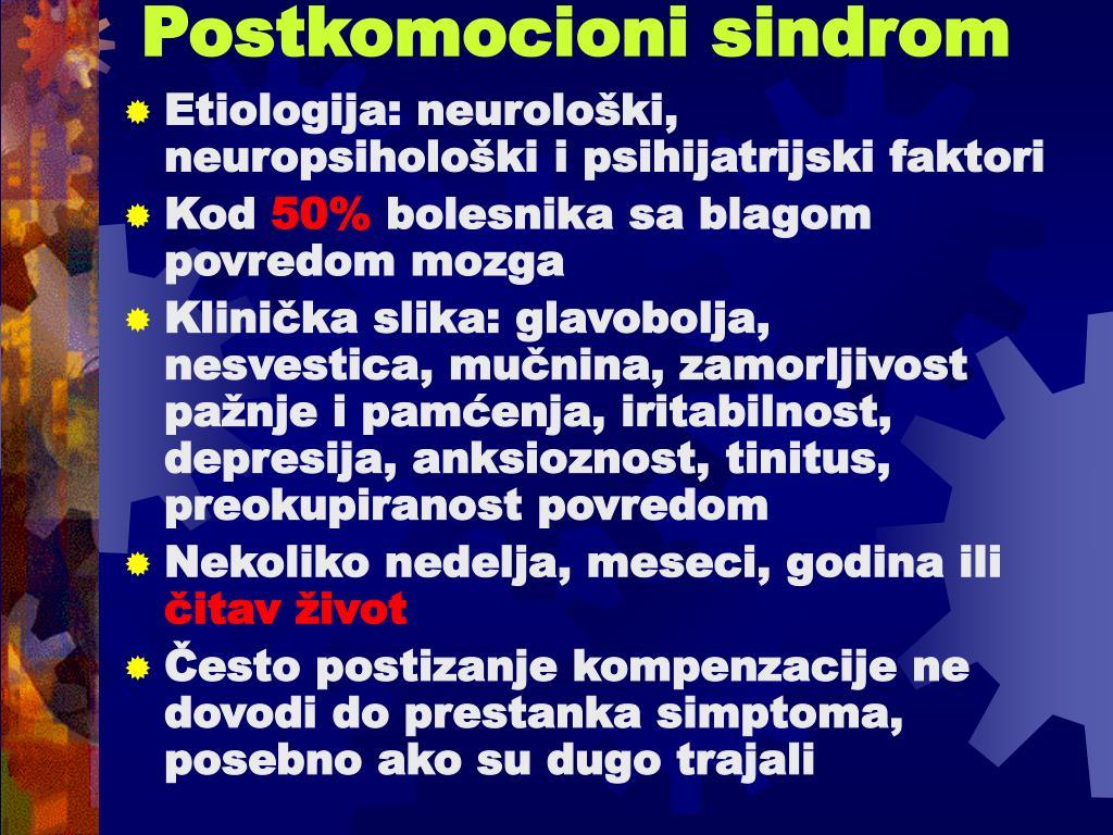 Postkomocioni sindrom