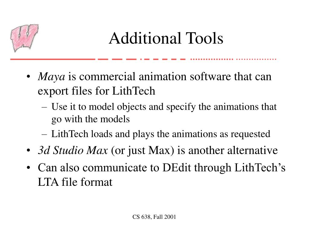 Additional Tools
