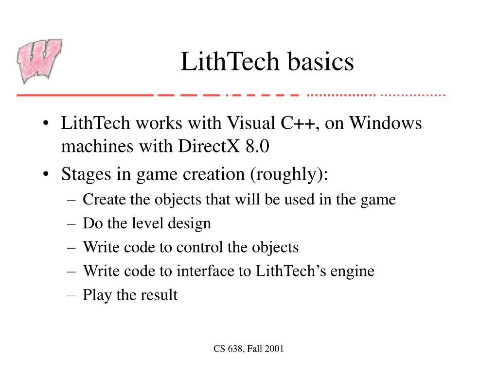 LithTech basics