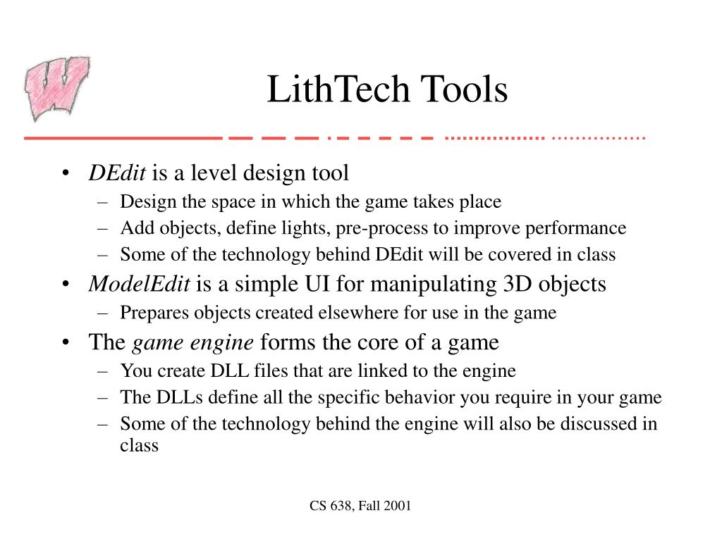 LithTech Tools