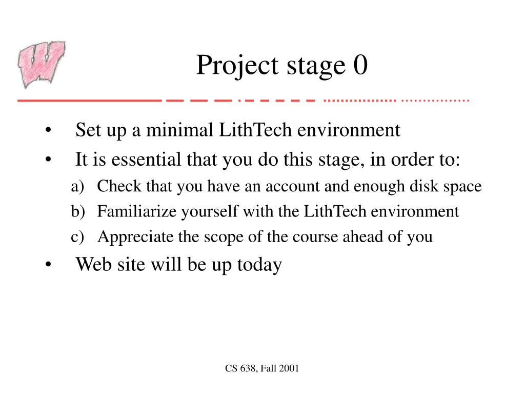 Project stage 0