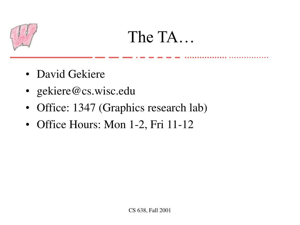 The TA…
