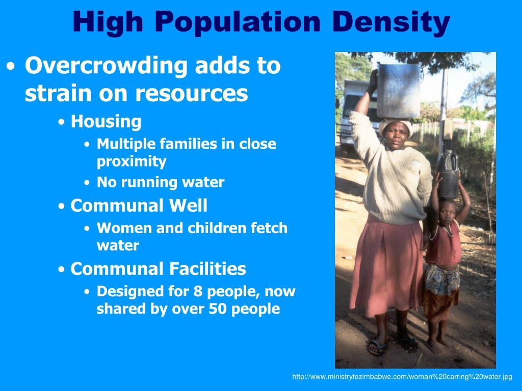 High Population Density