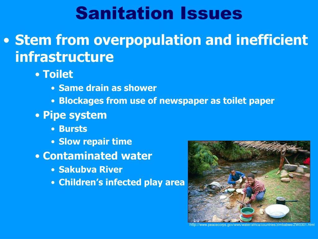 Sanitation Issues