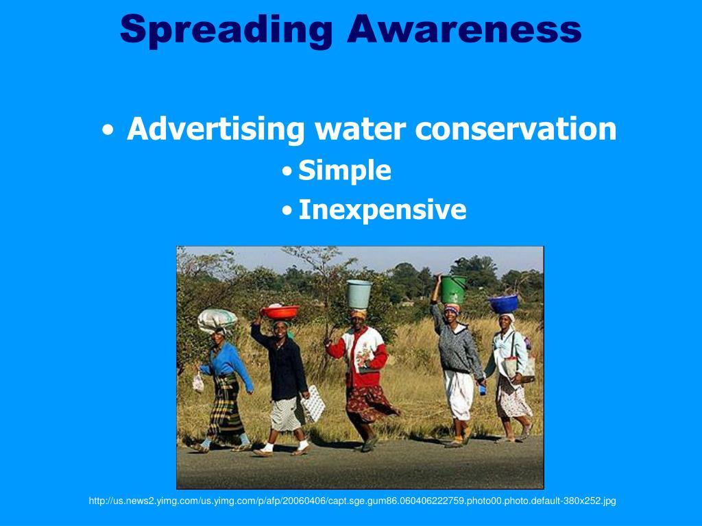 Spreading Awareness