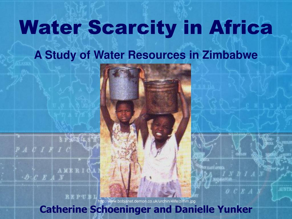 A Study of Water Resources in Zimbabwe