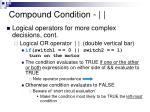 compound condition15