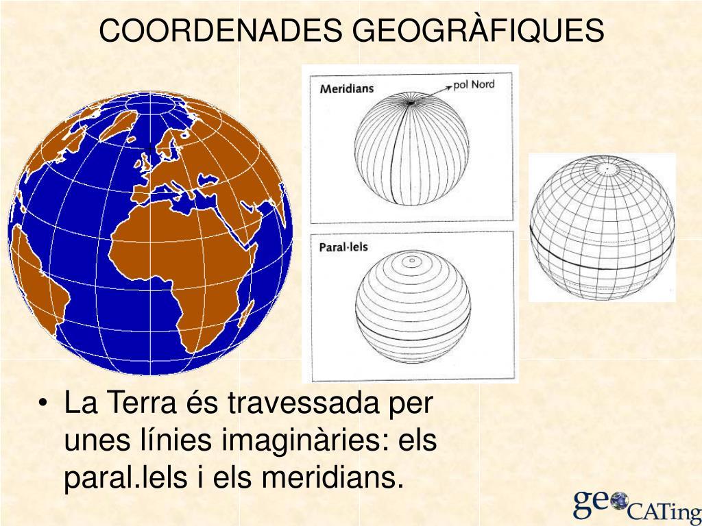 COORDENADES GEOGRÀFIQUES