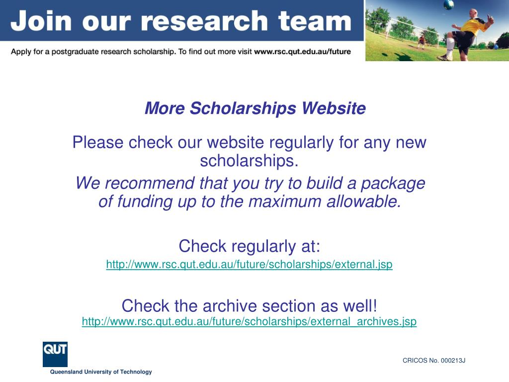 More Scholarships Website
