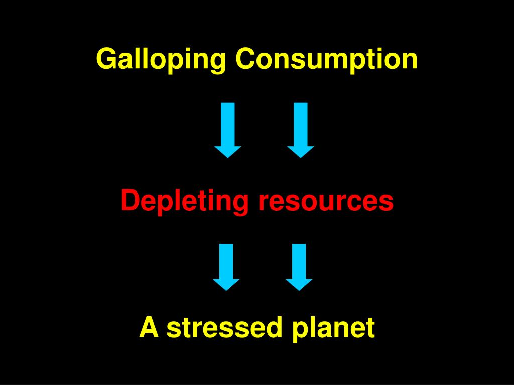 A stressed planet