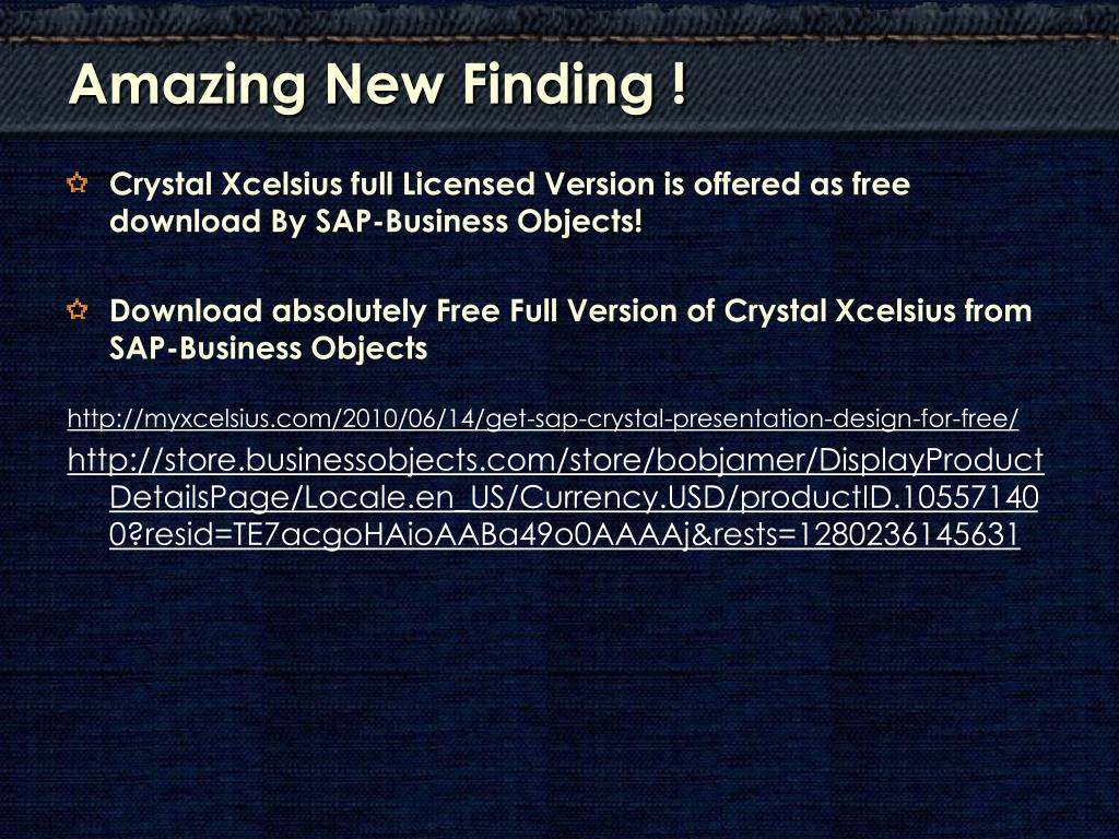 Amazing New Finding !
