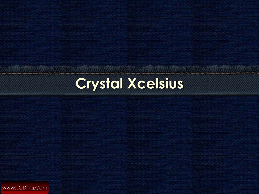 Crystal Xcelsius