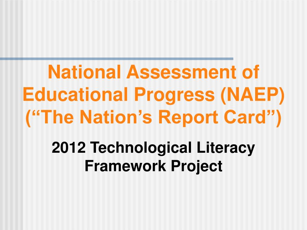 National Assessment of