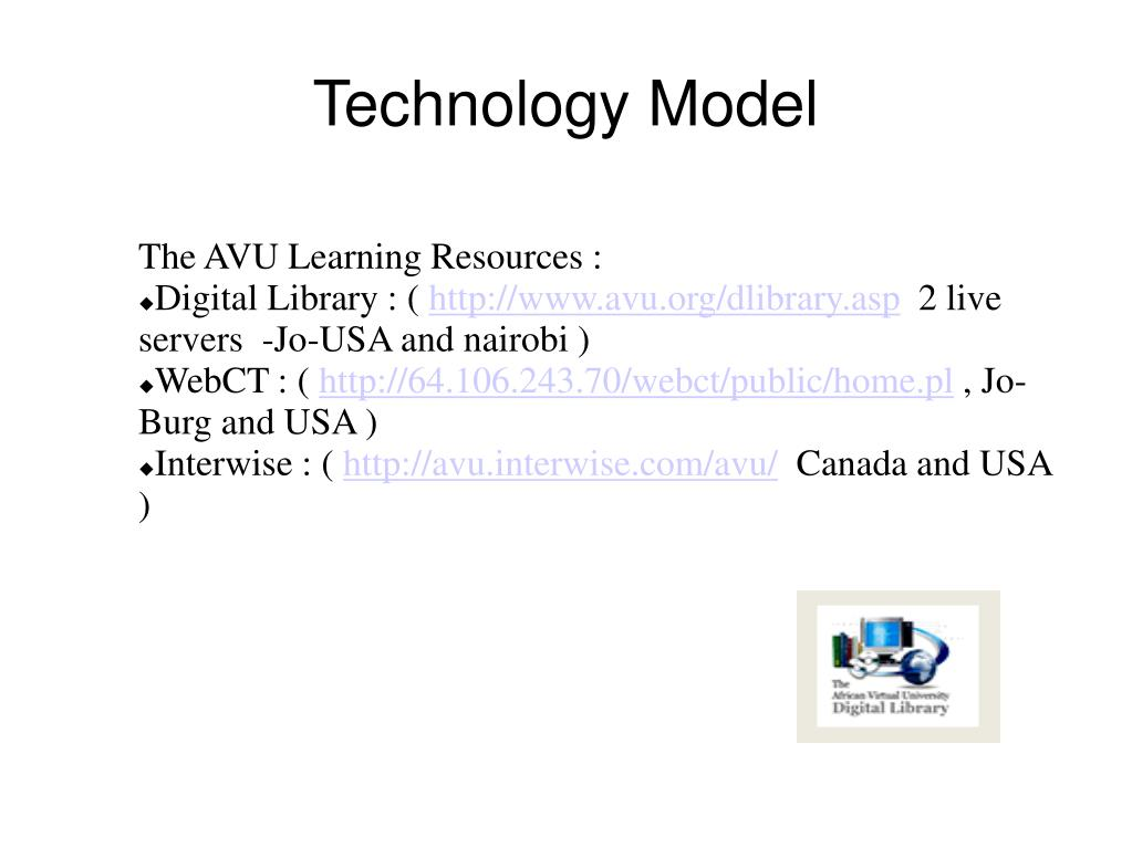 Technology Model