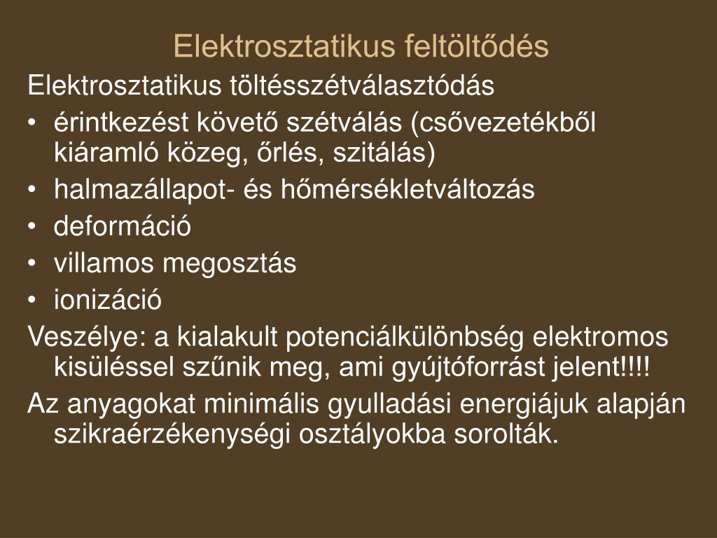 Elektrosztatikus feltöltődés