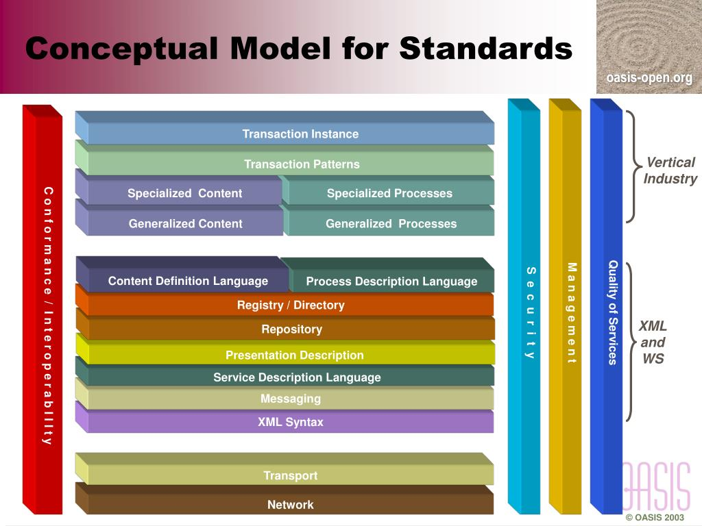 Conceptual Model for Standards
