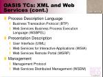 oasis tcs xml and web services cont49