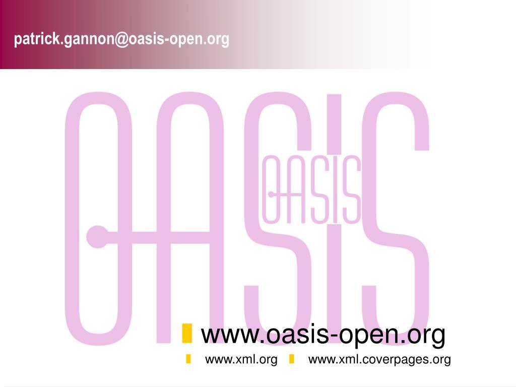 patrick.gannon@oasis-open.org