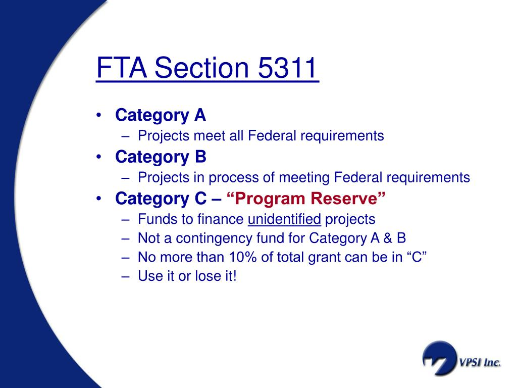FTA Section 5311