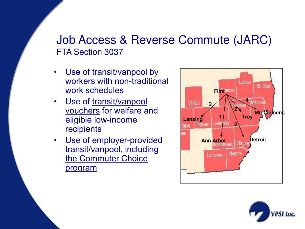 Job Access & Reverse Commute (JARC)