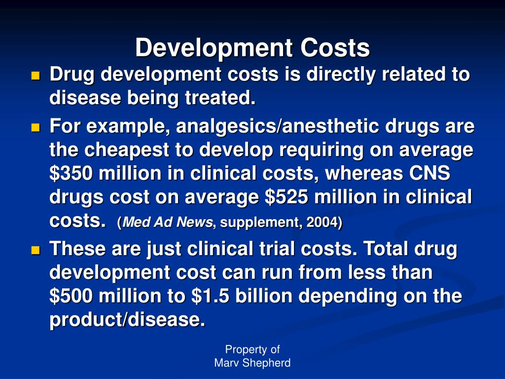 Development Costs
