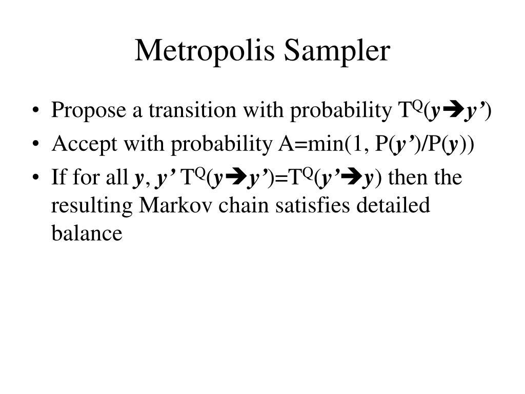 Metropolis Sampler
