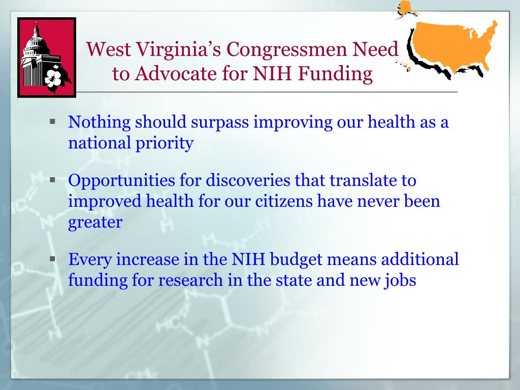 West Virginia's Congressmen Need to Advocate for NIH Funding