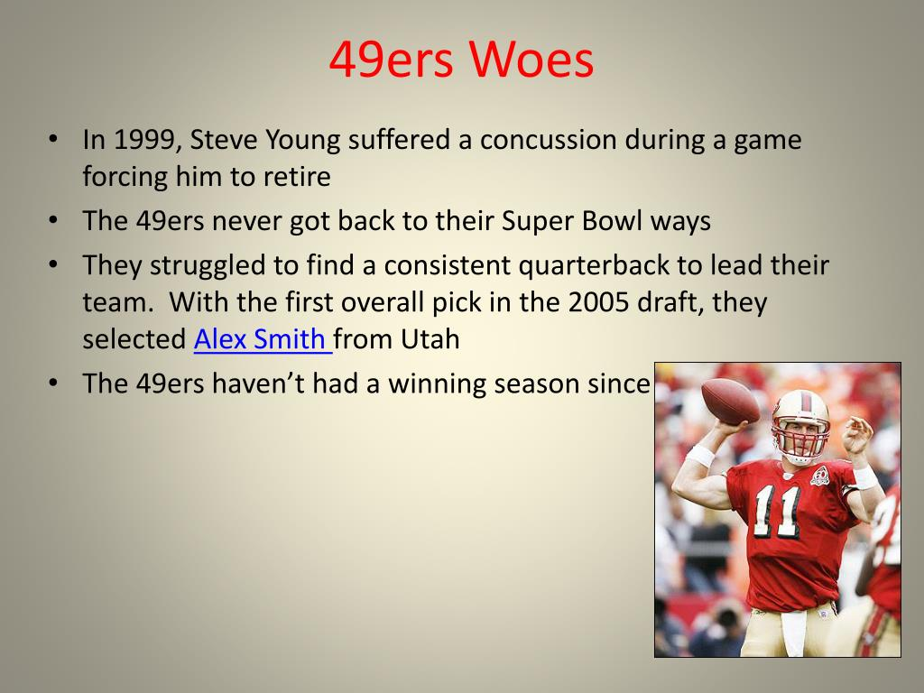 49ers Woes