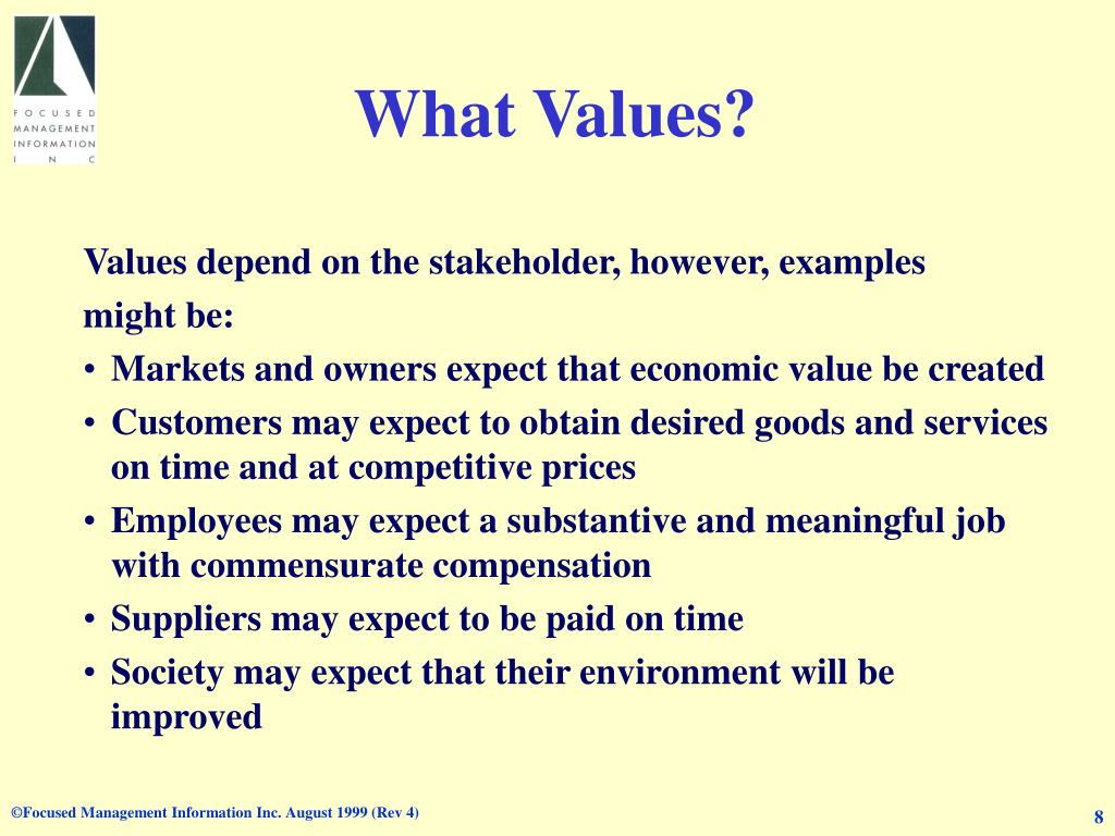 What Values?
