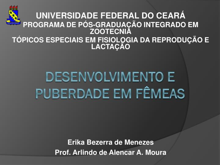 UNIVERSIDADE FEDERAL DO CEARÁ