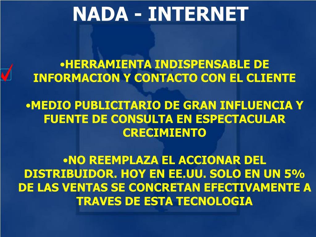 NADA - INTERNET