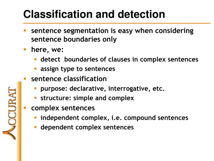 Classification and detection l.jpg